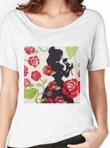 Beauty and the beast Women's Relaxed Fit T-Shirt