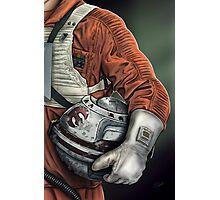 Helmet Series: Luke Hoth Pilot Photographic Print