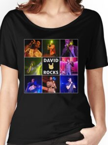 David Duchovny Rocks Women's Relaxed Fit T-Shirt