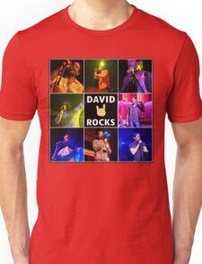 David Duchovny Rocks Unisex T-Shirt