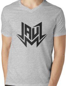 New Jauz Logo Mens V-Neck T-Shirt