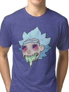 RICK FROM RICKY AND MORTY Tri-blend T-Shirt