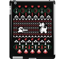 It's Dangerous To Go Alone At Christmas iPad Case/Skin