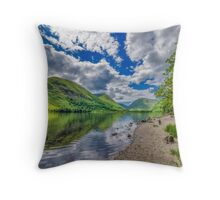 Brothers Water Lake District Throw Pillow