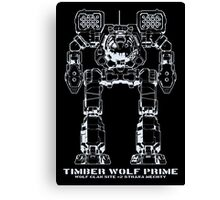 BattleTech Timber Wolf Prime Canvas Print