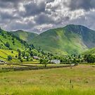 Hartsop Village Lake District by Trevor Kersley