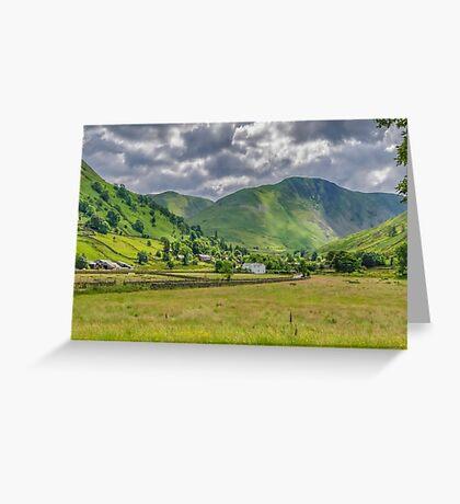 Hartsop Village Lake District Greeting Card