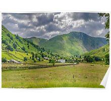 Hartsop Village Lake District Poster