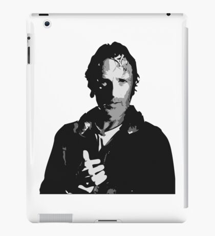 The Walking Dead - Rick Grimes Profile iPad Case/Skin
