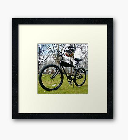 BLACK CRUISER CR2 Framed Print