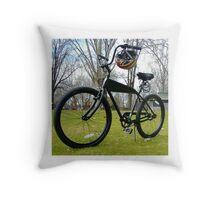BLACK CRUISER CR2 Throw Pillow