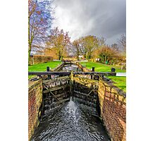 The Lock  Ripon Canal Photographic Print