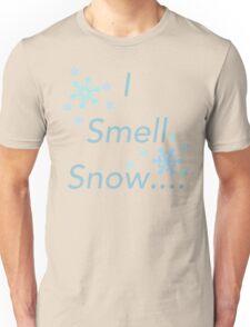I Smell Snow Unisex T-Shirt