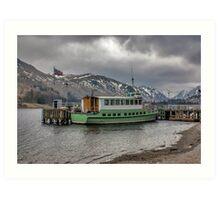Tourist Boat at Glennridding Art Print