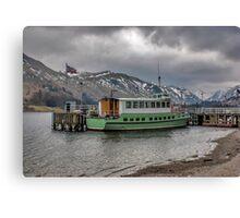 Tourist Boat at Glennridding Canvas Print