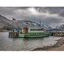 Tourist Boat at Glennridding Photographic Print