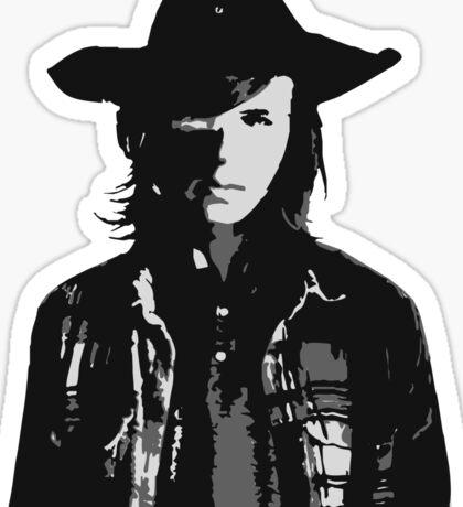 The Walking Dead - Carl Grimes Profile Sticker