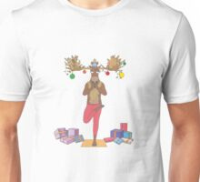 Merry X-moose, Yoga fans Unisex T-Shirt