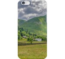 Hartsop Village Lake District iPhone Case/Skin