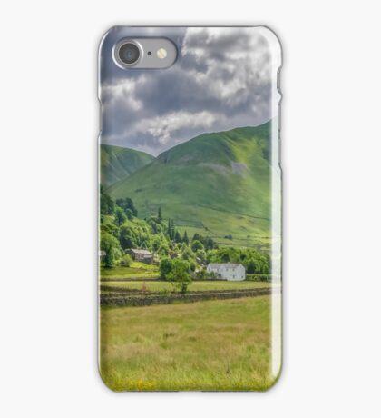 Hartsop Village Lake District iPhone Case/Skin