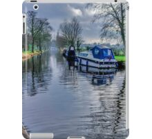 On The Canal Ripon iPad Case/Skin