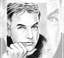 Mark Harmon mini portrait MH2 by wu-wei