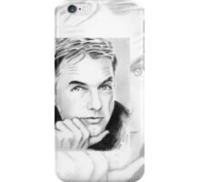 Mark Harmon mini portrait MH2 iPhone Case/Skin