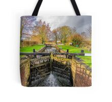 The Lock  Ripon Canal Tote Bag