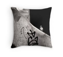urban dweller Throw Pillow