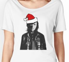 The Walking Dead - Carl Christmas Women's Relaxed Fit T-Shirt