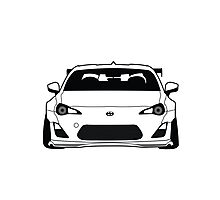 Stanced Rocket Bunny FRS Photographic Print