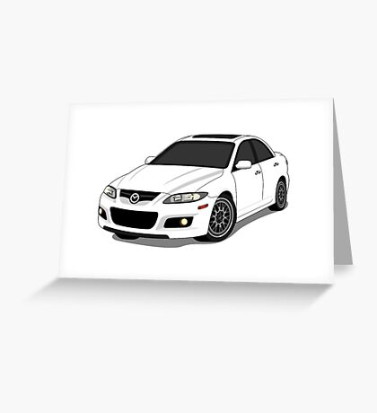 Mazda Mazdaspeed Greeting Card