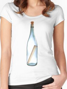 Gather those bottles! Women's Fitted Scoop T-Shirt