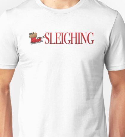 Sleighing Unisex T-Shirt