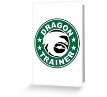 Dragon trainer Greeting Card