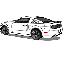 Ford Mustang Photographic Print