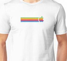 Apple Colour Stripe  Unisex T-Shirt