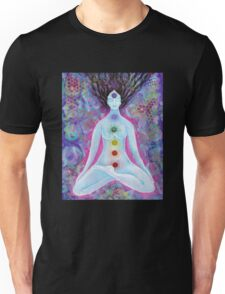 Check'in out my Chakras Unisex T-Shirt