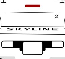 Nissan GTR - R34 Skyline Sticker