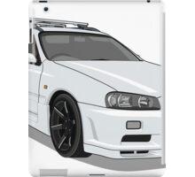 Nissan Stage A R34 iPad Case/Skin