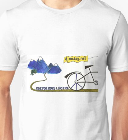Ride for Peace and Justice Unisex T-Shirt