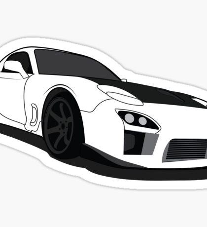 Mazda Rx7 FD Sticker