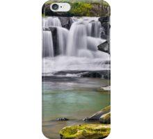Waterfall on Dunloup Creek iPhone Case/Skin