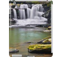 Waterfall on Dunloup Creek iPad Case/Skin