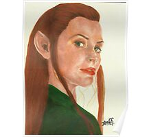 Tauriel The hobbit Poster
