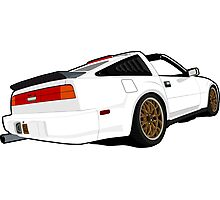 Nissan 300zx - Z31 Photographic Print