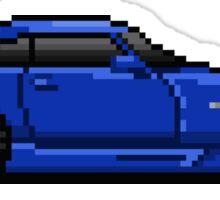 Honda s2000 Pixel Car Sticker