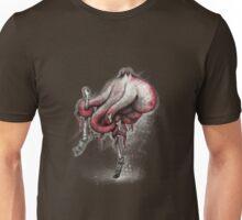 Octo Stilts Shirt (Dark Background) Unisex T-Shirt