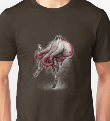 Octo Stilts Shirt (Dark Background) Unisex T-Shirt