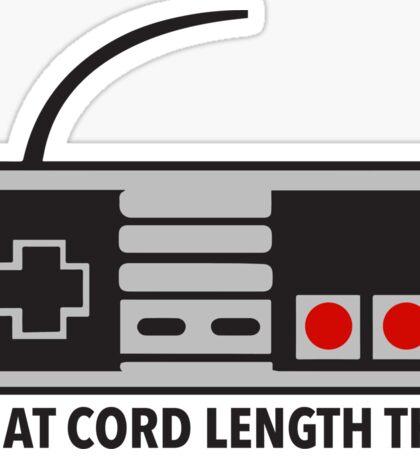 NES Nintendo Classic Edition Mini Controller Cord Length Tho Sticker